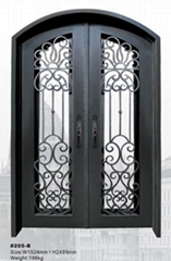 wrought iron door(HT-205B)