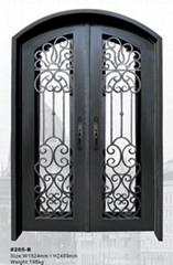 wrought iron door(HT-205B)