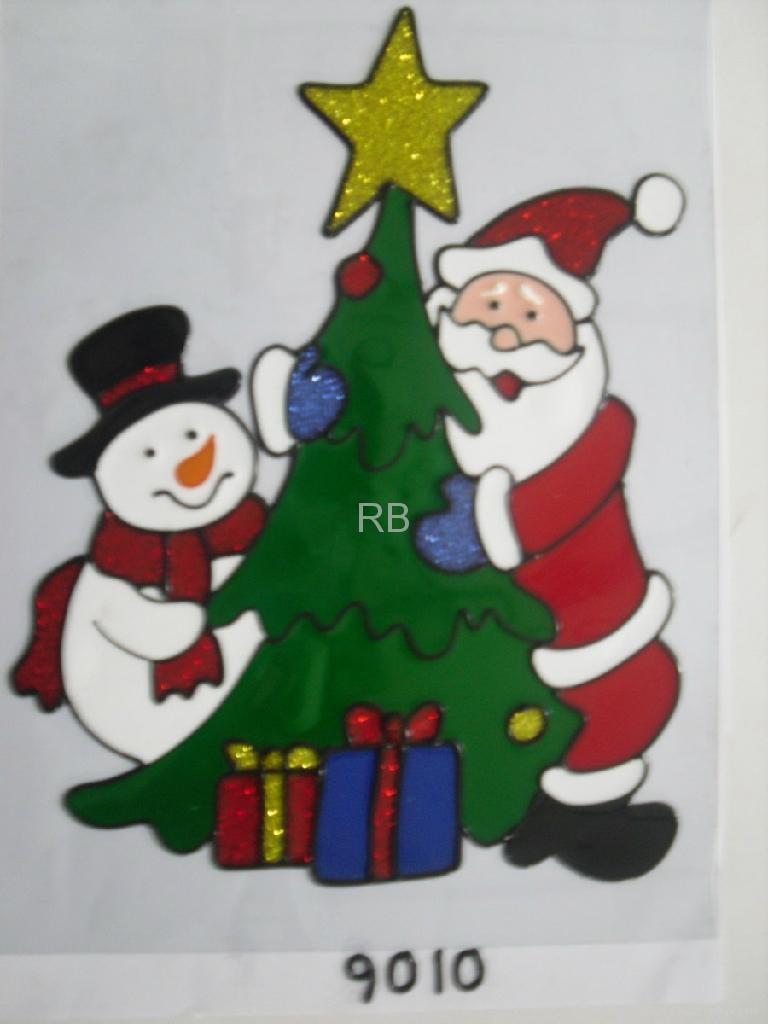 ... Halloween Fairy Polymer clay christmas Window applique/sticker 2 ...