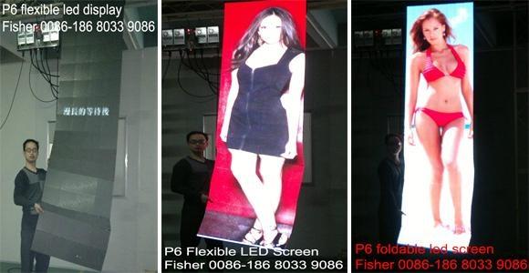 flexible led display screen (P6) 1