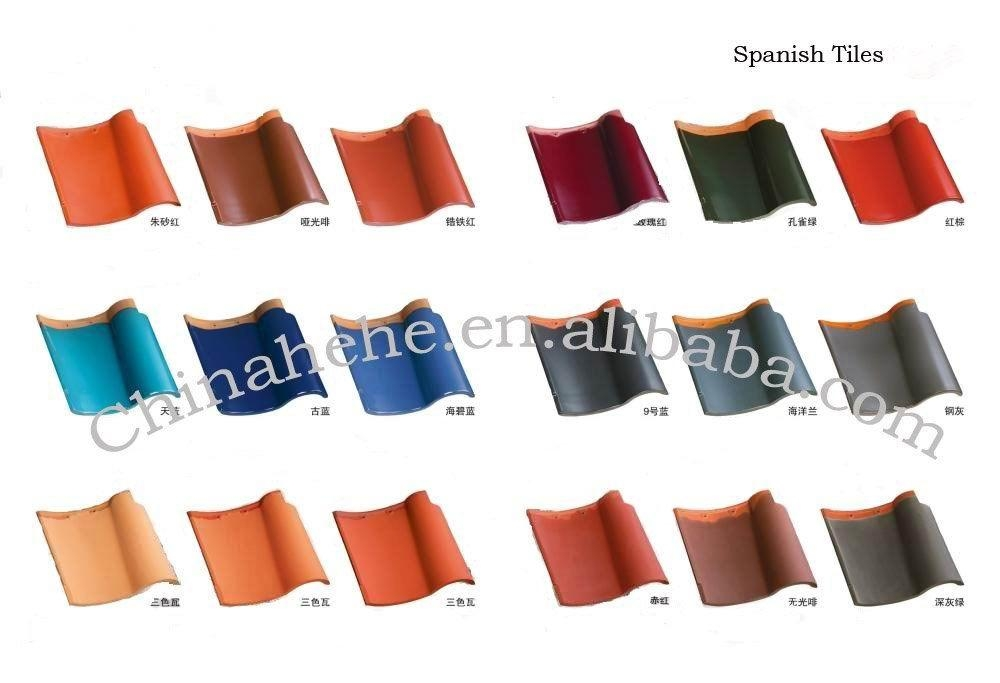 Spanish style roof tile colours viral infections blog for Spanish clay tile
