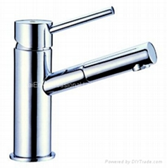 Basin Faucet Hot & Cold Mix single lever basin mixer Face basin bibcock series