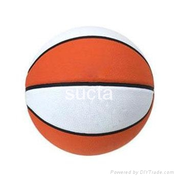 rubber basketball 1