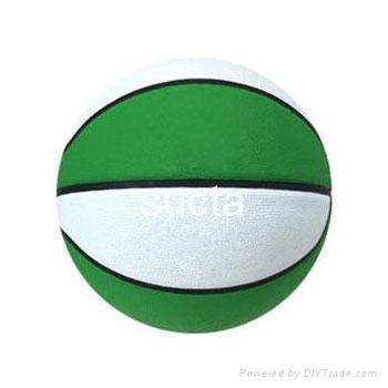 rubber basketball 3