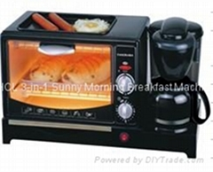 HCL 3-in-1 Sunny Morning Breakfast Machine