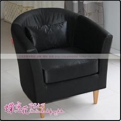 北京现代沙发 书房皮椅 单人沙发椅 沙发椅 办公沙发