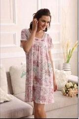 竹纖維女士家居裙