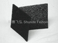 Activated carbon filter/cotton