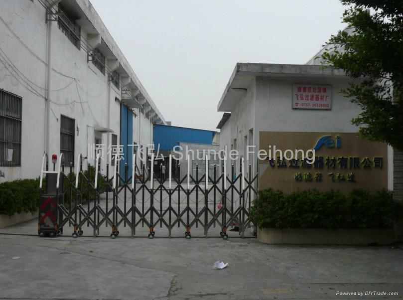 Shunde feihong filter equipment factory china manufacturer company