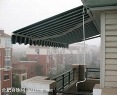 蘇州雨篷 蘇州伸縮雨篷 蘇州時代雨篷廠