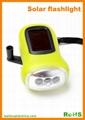 Dynamo Solar Flashlight With 3LEDs 1