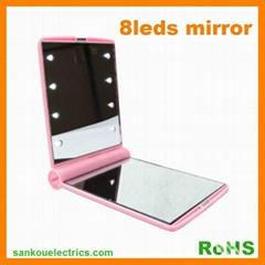 LED make up Mirror With 8LEDs Light