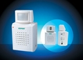 Wireless infrared motion chime/alarm