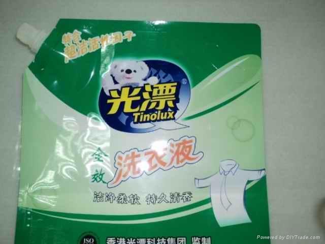 广州洗衣液吸嘴袋 2
