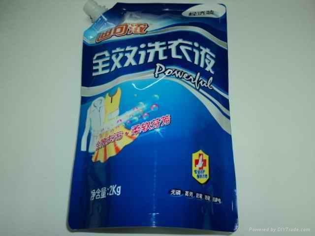 广州洗衣液吸嘴袋 5