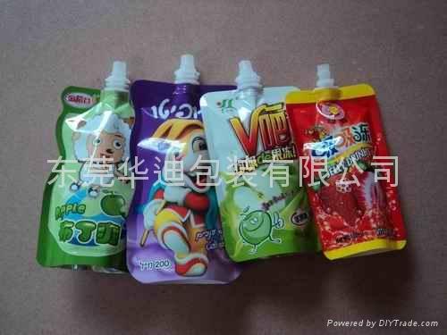食品果汁吸嘴袋 1