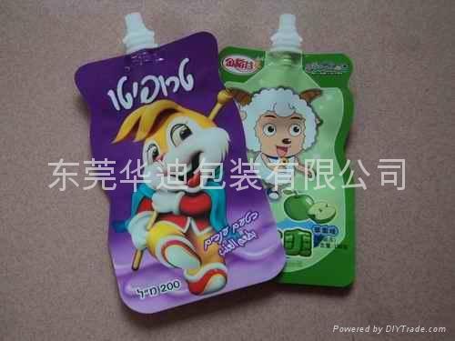 食品果汁吸嘴袋 4