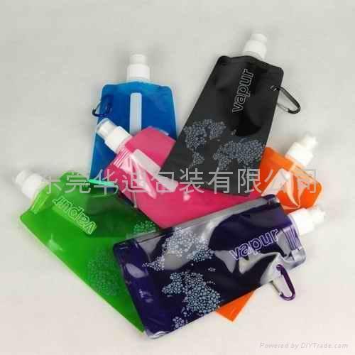 出口可折叠水袋 5
