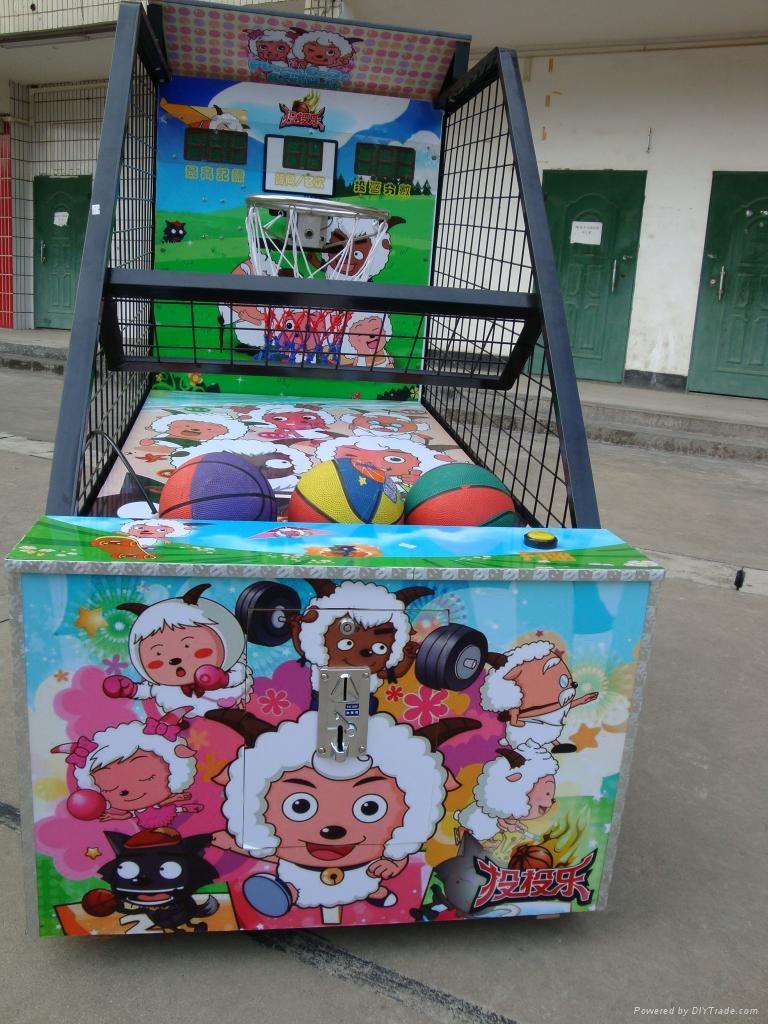 儿童投篮游戏机 3
