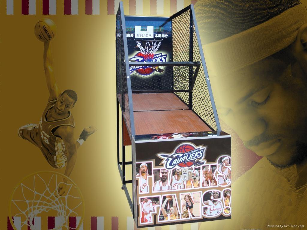 火箭球迷篮球机  3