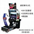 江西模拟机霹雳赛车 游戏机