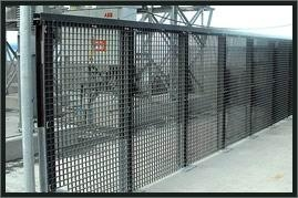 超峰钢格栅板护栏 1