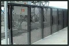 超峰钢格栅板护栏
