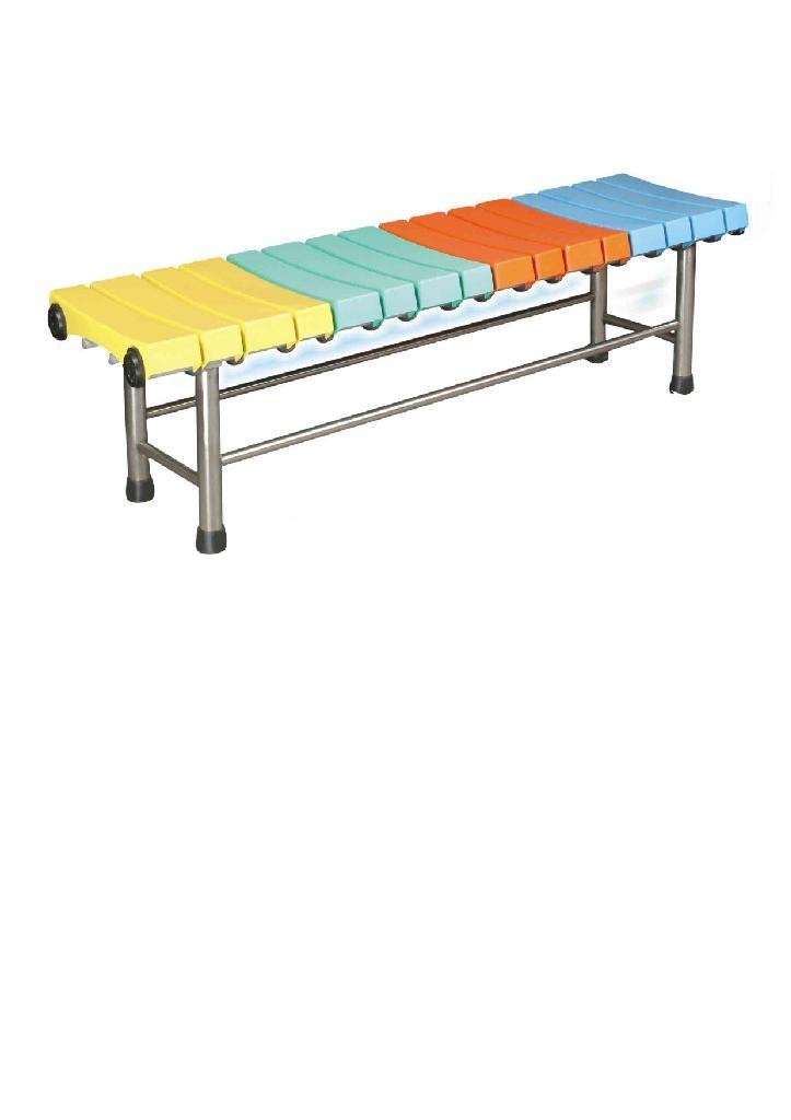 玻璃鋼條凳2型 1