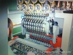 變壓器全自動繞線包膠浸錫一體機