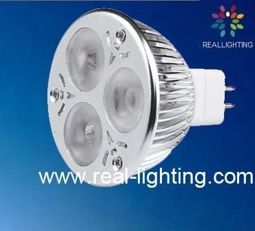 cree LED 3*2w spot light bulb 3