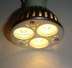 high power cree LED 3*2w spot light led downlight led celling E27 MR16 Gu10
