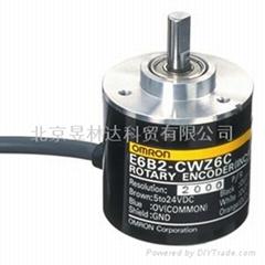 北京现货供应欧姆龙编码器E6B2-CWZ1X 600P/R