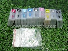 Refillable ink cartridge for Epson Stylus Pro 3800 3850