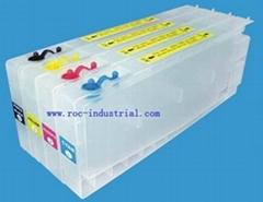 Refillable cartridge for Epson stylus color 3000