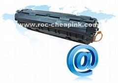 Compatible HP CE285A black toner cartridge