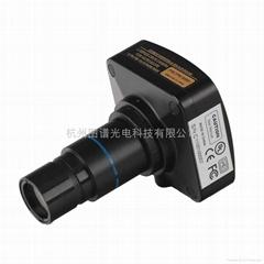 1000萬像素高分辨率真彩智能顯微鏡CCD數字相機