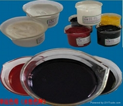 Inkjet print sublimation red