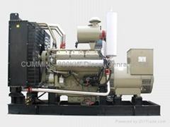 CUMMINS 200kw Diesel Generator Set for landuse