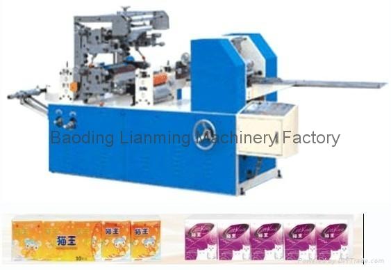 Mini Handkerchief Paper Machine 1