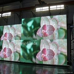 stage background led display telecaster P7.62 indoor