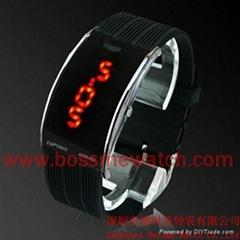 熔岩LED手表