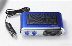 Car solar air purifier