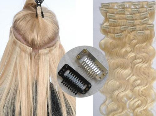 Clips in hair extension 3