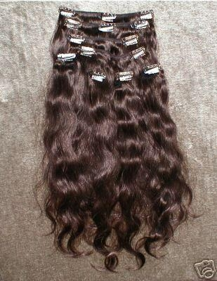 Clips in hair extension 4