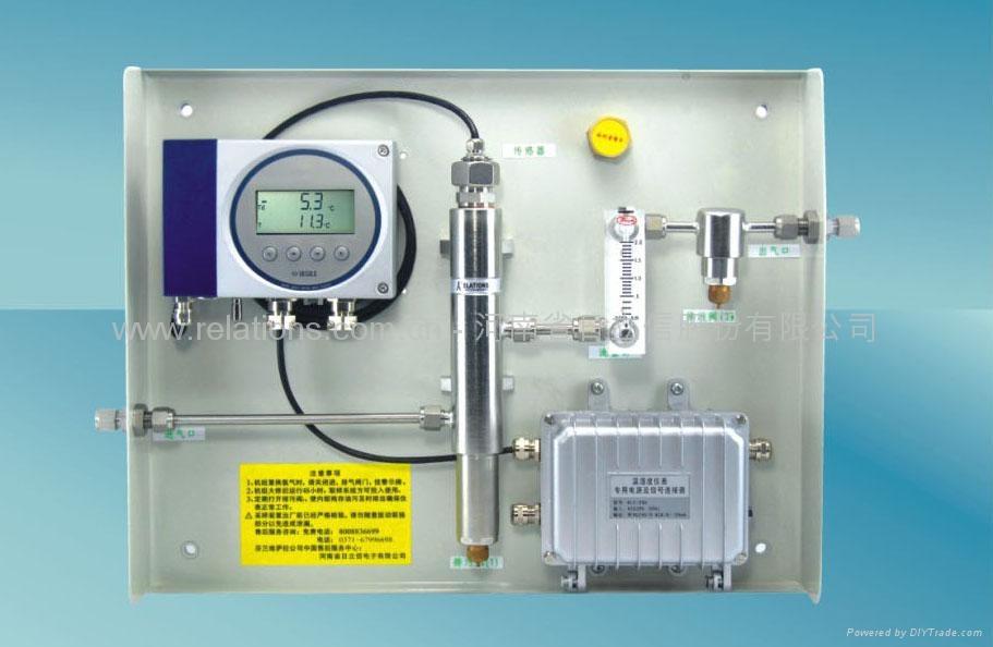 用于测量氢冷发电机组的氢气湿度