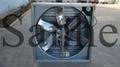Auto push-pull type exhaust fan