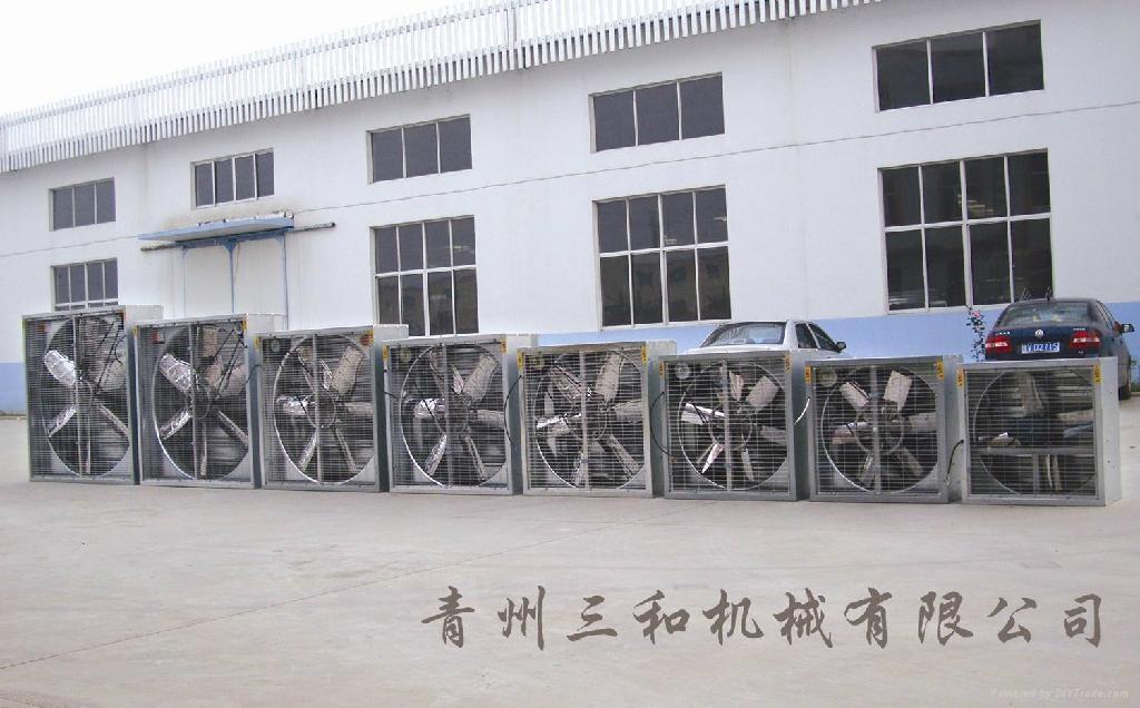 DJF(a)type swung drop hammer exhaust fan (Standard exhaust fan ) 4