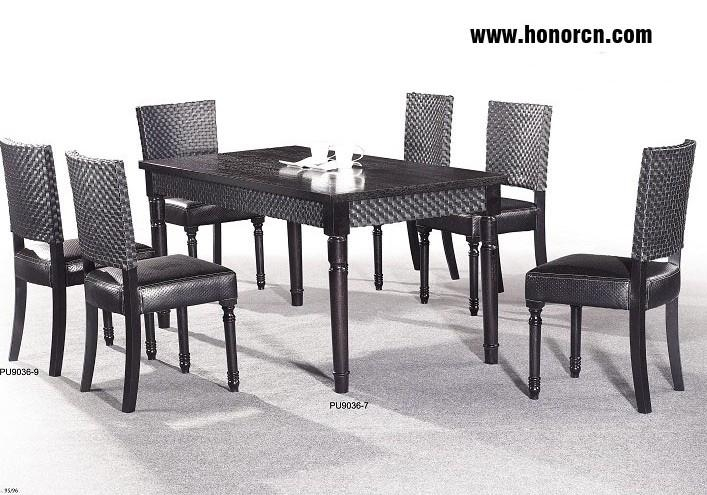 Table sets rattan milan seater furniture china for Dining room furniture manufacturers