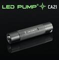 130 lumens CREE XPE Q4 LED stripe-style