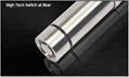 120流明 1×CR123A鋰電池不鏽鋼電筒 3